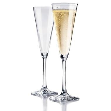 Libbey Vina Trumpet Champagne Flute, Set of 12