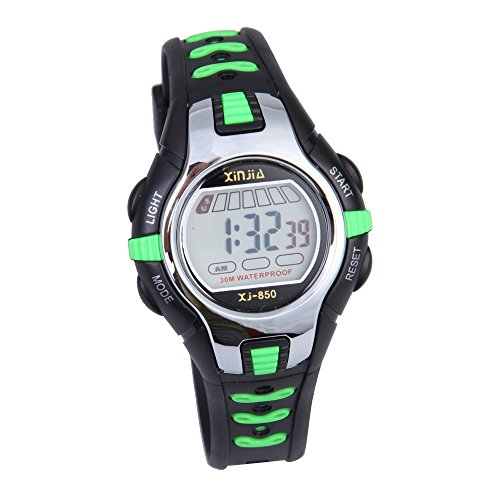 Armbanduhr kinder digital  Vakind® Kinder Multifunktionen Schwimmen Sport Digital Armbanduhr ...