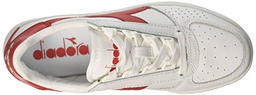 Sneaker Elite Diadora Uomo Rosso Ferrari B Italia Bianco Bianco qEw65wvx1
