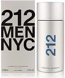 0490af13b 212 By Carolina Herrera For Men. Eau De Toilette Spray 3.4 Ounces ...
