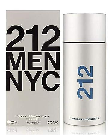 fcfe25e8b Amazon.com   212 by Carolina Herrera Eau De Toilette Spray For Men 6.7 oz  200 ml.   Eau De Toilettes   Beauty