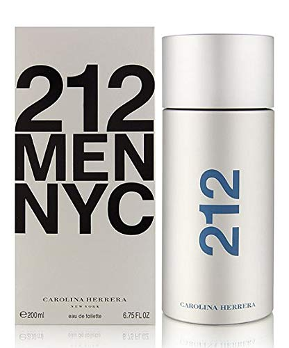 (212 by Carolina Herrera Eau De Toilette Spray For Men 6.7 oz 200 ml.)