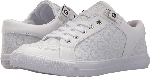 Embossed Suede Leather - G by GUESS Women's Oryder Logo-Embossed Suede Lace-up Sneakers
