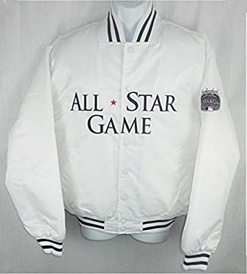 4dc82a9edb8 Amazon.com   Majestic New York Yankees MLB Mens 2008 All Star Satin Jacket  Adult Sizes (XL)   Clothing