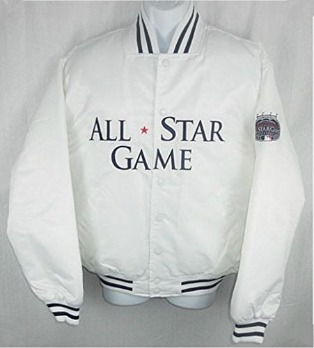 Majestic New York Yankees MLB Mens 2008 All Star Satin Jacket Adult Sizes (XL)