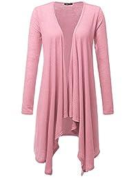JayJay Womens Stretchy Soft Fabric Comfy Long Cardigan