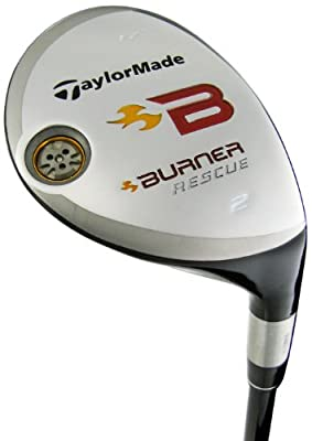 TaylorMade Mens Burner Rescue Utility Woods 4 Wood Re-Ax Superfast 60 Graphite