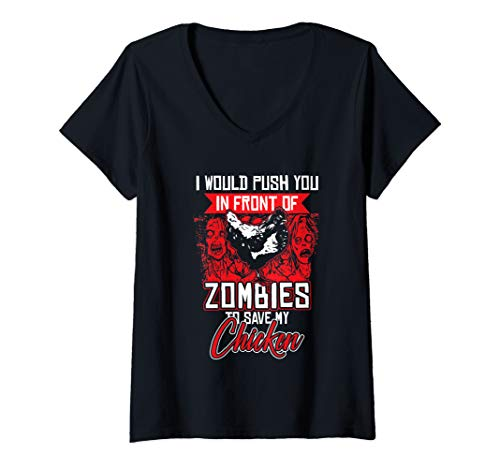 Womens Farm Animal Farmer Zombie Halloween - Save