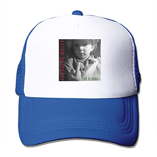 (BobBThorpe Unisex Flogging Molly Life is Good Music Theme Hat Fashion Baseball Cap,Sun Hat,dad Hat,Truck Hat)