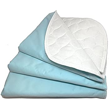 RMS Ultra Soft 4-Layer Washable and Reusable Incontinence Bed Pad - Waterproof Bed Pads, 18