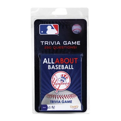 New York Yankees All About Trivia Card (Ny Yankees Baseball Game)