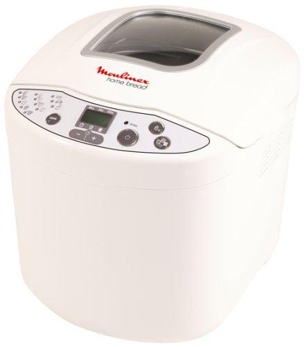 Moulinex W200030 - Panificadora (Blanco, 1 kg, 610 W ...