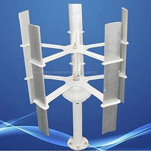 MEIGONGJU 12V Kleinwindenergie Hoch effiziente Haus Wind Turbine Generator 5 Blades Windenergie Rotor