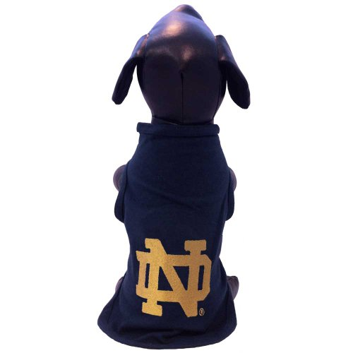 All Star Dogs NCAA Notre Dame Fighting Irish Cotton Lycra Dog Tank Top, Large - Notre Dame Fan Gear