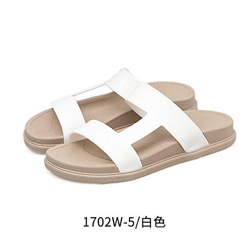 YMFIE a da antislittamento bagno scarpe Casual estate antislittamento scarpe scarpe donna spesso Outdoor fondo punta piscina aperta spiaggia TSrZxwTq