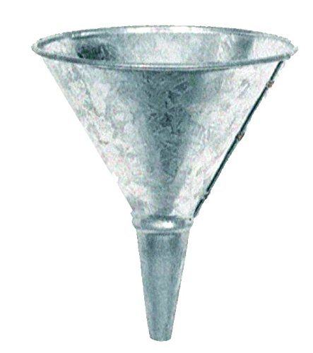 National Spencer 1 Quart Galvanized Funnel w/ Screen 701.case of 24 Units