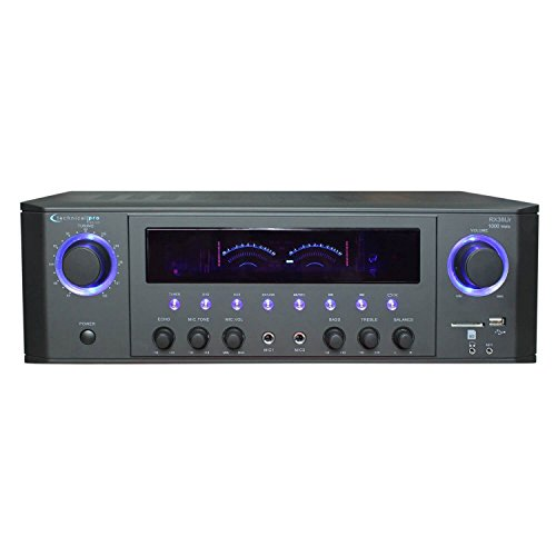 Technical Pro RX38UR Professional Receiver with USB & SD Card Inputs by Technical Pro