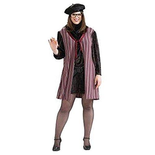 Forum Novelties Womens Beatnik Chick Halloween Party Costume Set Purple One Plus (Beatnik Halloween Costume)