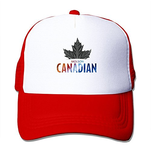cool-molson-canadian-trucker-mesh-baseball-cap-hat-one-size-red