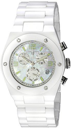 Swiss Legend Throttle (Swiss Legend Women's 10055-WWSA Throttle Analog Display Swiss Quartz White Watch)