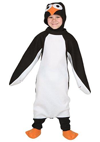 Toddler Happy Penguin Costume 2T Black,White -