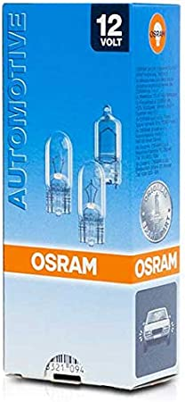 12 V 10 Lampes Osram 2820 Original /Éclairage Int/érieur