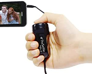 Quaroth - GabbaGoods TheSelfie Camera Remote Shutter Release for iPhone, iPad, and iPod touch - Retail Packaging - Black...