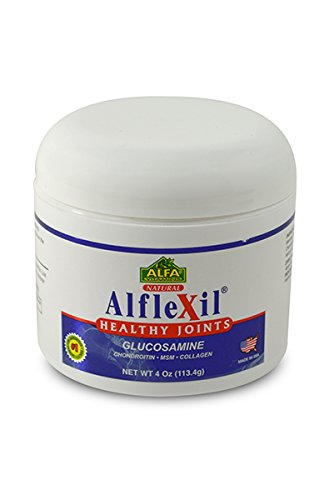 Alflexil крем 4 Oz. Глюкозамин. Хондроитин. МСМ. Коллаген. Совм. Кость. Мышца