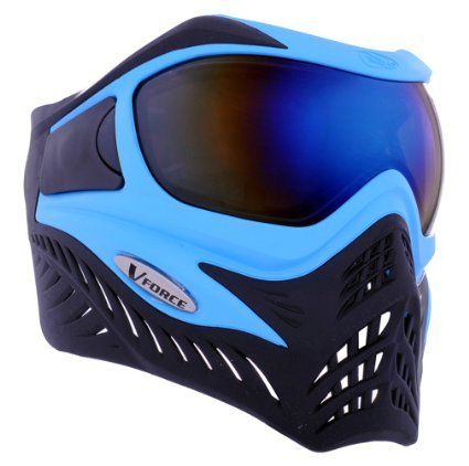 V-Force Grill Paintball Mask/Goggles (SE Blue/Black)