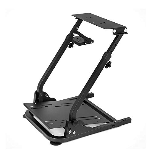 (G920 Racing Steering Wheel Stand, NOPTEG G27,G25, G29 G920 Gaming Racing Simulator Wheel Stand Racing Wheel Pro Stand Wheel Pedals Not Included (B))