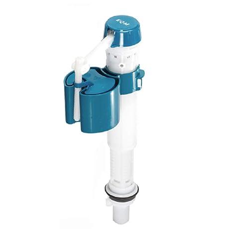 Válvula de descarga, válvula de grifo para inodoro, flotador ajustable con botón de presión