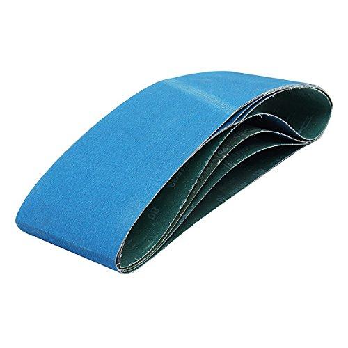 Kamas 4pcs 40 60 80 120 Grits 150x1200mm Grinding Zirconia Sanding Belts