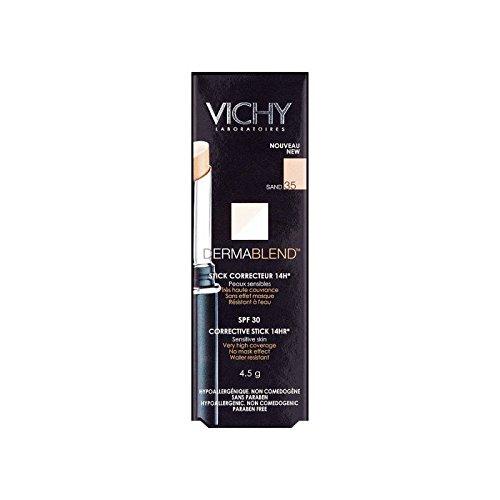 ヴィシー是正スティック4.5グラムヌード25 x2 - Vichy Dermablend Corrective Stick 4.5g Nude 25 (Pack of 2) [並行輸入品] B071KWJM85
