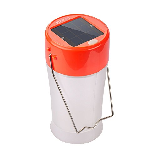 Etekcity-Portable-Rechargeable-Outdoor-USB-and-Solar-LED-Camping-Lantern-Orange