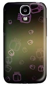 Samsung S4 Case Falling Skulls 3D Custom Samsung S4 Case Cover