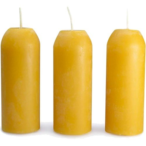 12 Hour Beeswax candle for CandleLntrn /3