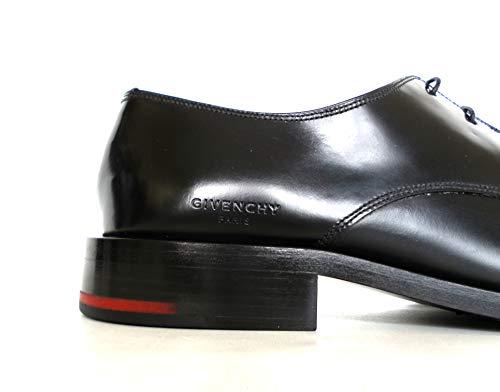 Pelle BH100DH00W001 Classiche Givenchy Cruz in Nero Uomo Derby da Scarpe z5Ypx6