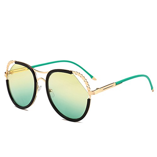 sol Piece Yellow de Packers mujer para Back Box Green Black Gafas gqtwnv