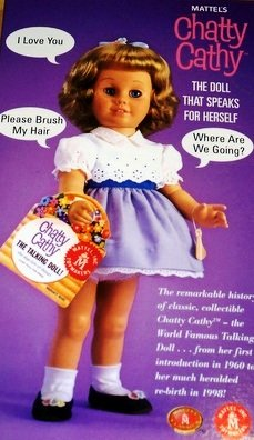 Chatty Cathy 1960 Reproduction Talking Doll - 20 Inch