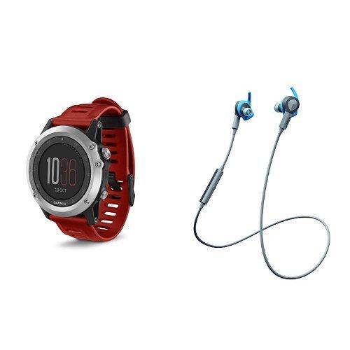 Garmin Fenix 3 With Jabra Sport Coach Headphones