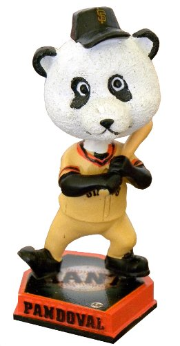 MLB San Francisco Giants Panda 3.5 Bighead Home Bobble, Orange by Forever Collectibles