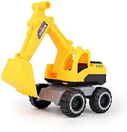 fangzhuo Vehículo de construcción Excavadora Grande Vehículo De Ingeniería De Juguete Excavadora Camión De Arena Bulldozer Coche De Juguete De Empuje Impulsado por Fricción para Niños