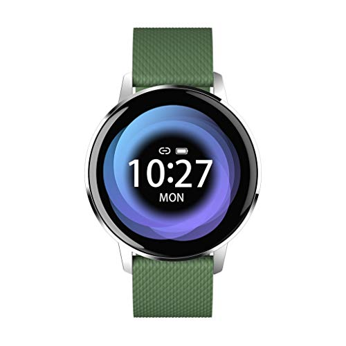 Kiar Smart Watch Waterproof Tempered Glass Activity Fitness Tracker Heart Rate Monito Smart Band Calorie Counter, Step Counter, Pedometer Walking for Men Women