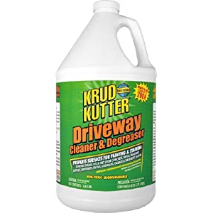 Krud Kutter DC01 Clear Driveway Cleaner and Degreaser with Mild Odor, 1 Gallon