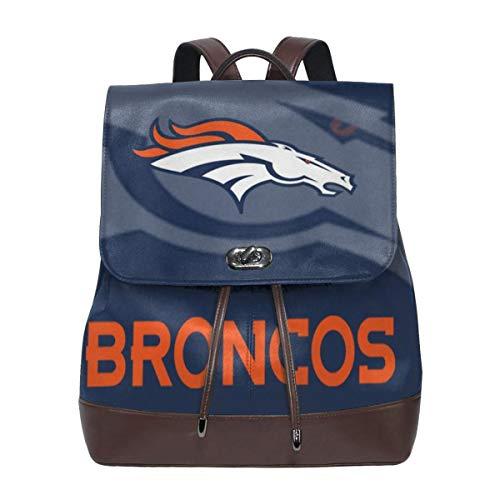 - Aoskin Custom Denver Broncos Women's Backpacks Shoulder Bag Female Backpack Purse