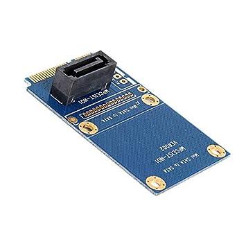 Lopbinte Msata Pci-E Sata Ssd Slot A 7 Pin Sata HDD Convertir ...