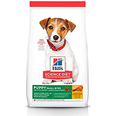 Hill's Science Diet Dry Dog Food, Puppy, Small Bites, Chicken Meal & Barley Recipe