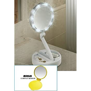 Amazon Com Natago Led Lighted Makeup Mirror 24 Led