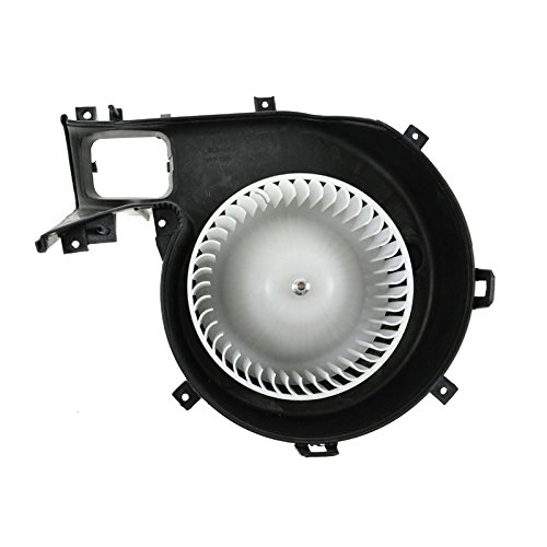 Interior Heater Blower Motor with Fan Cage 12799558 for Saab 9-3 9-3X by TRQ