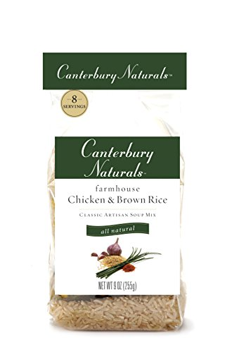 Canterbury Naturals Farmhouse Chicken and Brown Rice All Natural Classic Artisan Soup Mix, 9-Ounce Bags (Pack of 6)